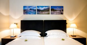 The Athens Gate Hotel Budget Room. Budget hotel rooms in Athens ideal for travellers on a budget.