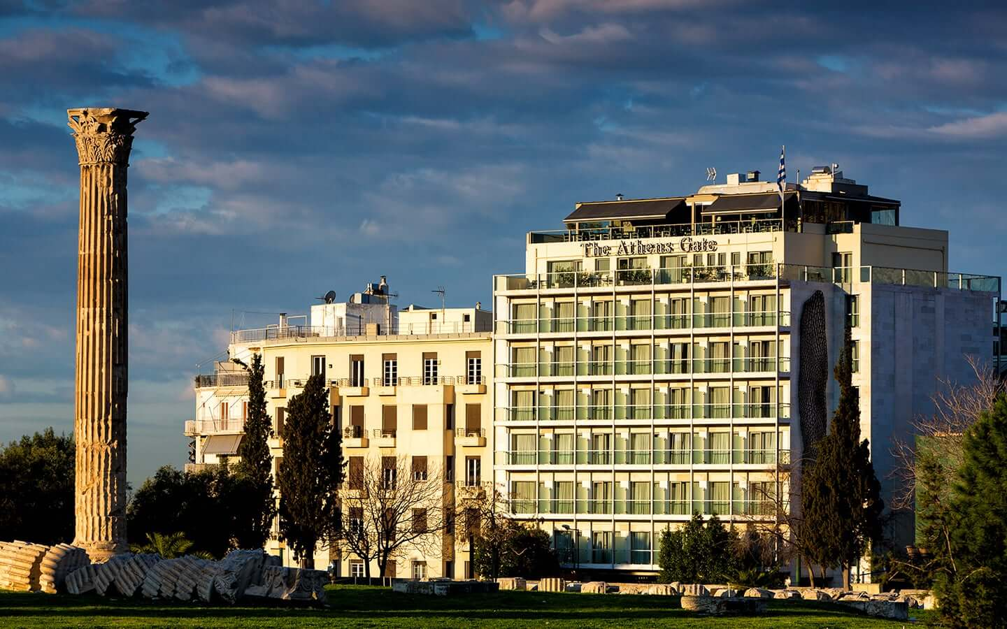The Athens Gate Hotel, A 4 Star Hotel In The Centre Of Athens Located  Opposite