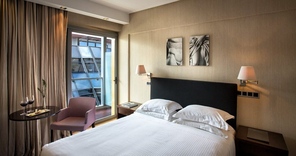 The Athens Gate Hotel Standard Room. Standard Hotel Rooms In Athens, Ideal  For Casual