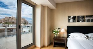 The Athens Gate Hotel Suite. Suite hotel rooms in Athens, ideal for luxury travellers.